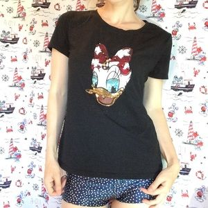 Disney Daisy Duck Sequin & Jewels T-Shirt